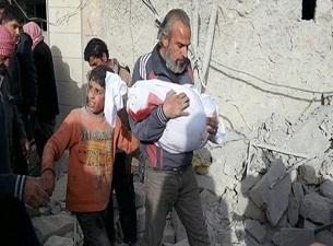 Suriye'de 14 bin çocuk öldü