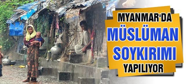 Myanmar'da Müslüman soykırımı yapılıyor