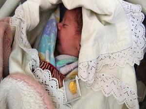 Bebeklere Kutlu Doğum altını