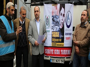 İstanbul'dan Suriye'ye yardım TIR'ı