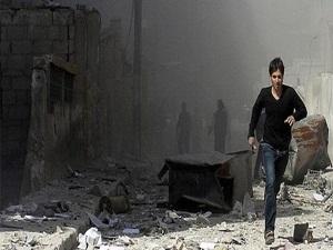 Suriye'de yine 'varil' bombası