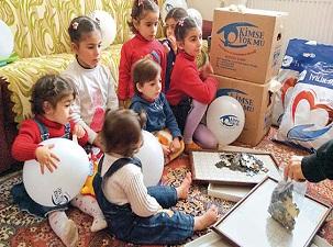 Gönüllüler, 420 Suriyeli ailenin yüzünü güldürdü