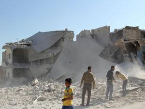 Esed güçlerinin cuma mesaisi: 14'ü çocuk 115 ölü