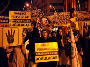 Türkiye Mısır'daki zalimlere karşı ayaklandı