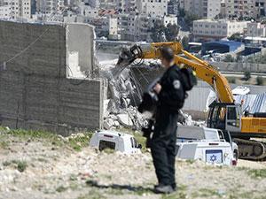 İsrail, Filistin'de 1 cami ve 4 ev yıktı