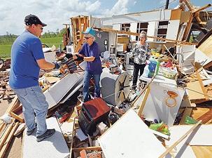 Kasırga sonrası Amerika