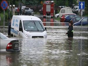 Bosna'da aşırı yağışlar sele neden oldu