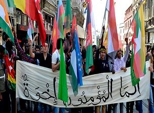 Lise öğrencileri İslam coğrafyası için yürüdü