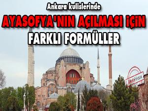 Ankara kulislerinde Ayasofya'nın açılması için farklı formüller