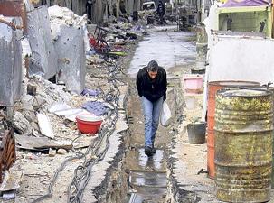 Suriye'de 'isyanın beşiği' Esed'e bırakıldı