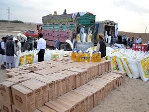 AFAD'dan Afganistan'daki selzedelere yardım