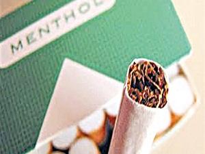 Sigara filtresine 'mentol' yasağı