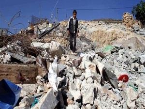 İsrail Filistinlilerin evini yıktı