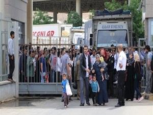 Cilvegözü'nden 2 ayda 100 bin Suriyeli girdi