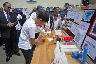 Erzurum'da TÜBİTAK destekli Bilim Fuarı açıldı