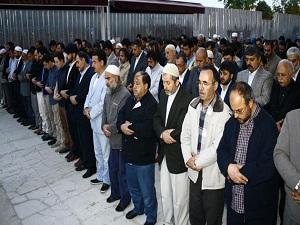 Soma'da ölenler için Fatih'te giyabi cenaze namazı