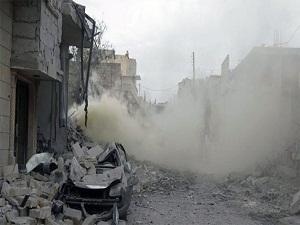 Halep'e ölüm düştü: Çok sayıda ölü