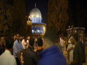 3 bin Türk Mescid-i Aksa'ya akın etti