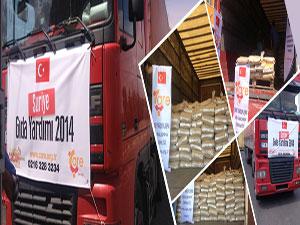 Çare Derneği'nden Suriye'ye gıda yardımı
