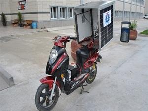 Bu da yakıtsız çalışan motosiklet