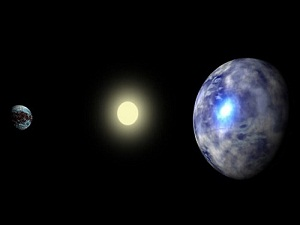 Dünya'dan 17 kat büyük gezegen keşfedildi