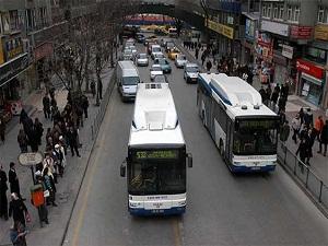 Ankara'da toplu ulaşıma zam
