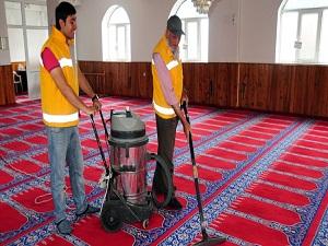 130 camii gülsuyu ile temizlenecek