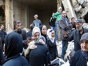 Yermuk'ten Esad güçlerine boykot