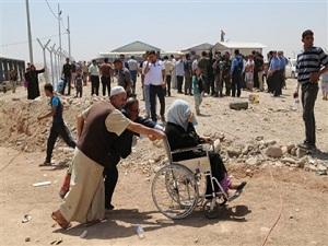 Binlerce Musullu evini terkediyor