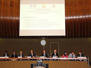 Vahşetin fotoğrafları BM'de tartışıldı