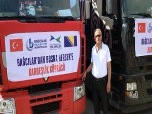 Bağcılar Belediyesi'nin yardımları Bosna'ya ulaştı