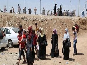 500 bin kişi Musul'u terk etti