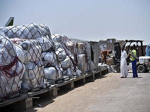 Türkiye'nin yardımı Orta Afrika'ya ulaştı