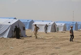 Musul'dan kaçanlar için çadır kuruluyor
