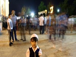 Ortadoğu'nun En Büyük Camisi Kandilde Doldu Taştı