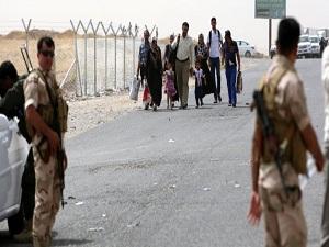 Musul'dan kaçan halk kuzeye sığınıyor