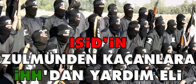 IŞİD'in zulmünden kaçanlara İHH'dan yardım eli