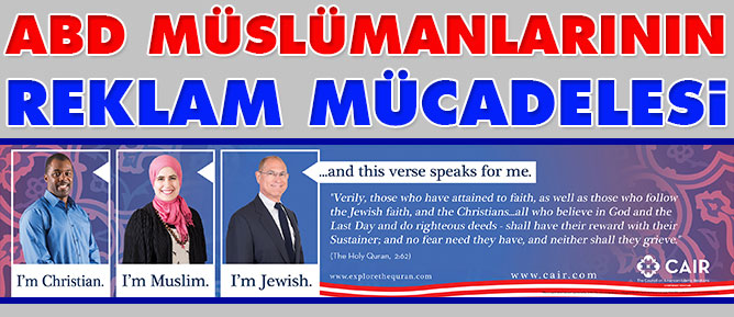 ABD Müslümanlarının reklam mücadelesi