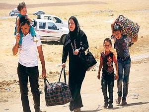 Türkmenler katliamdan kaçıyor