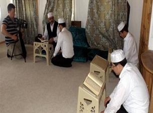 Üftade Tekkesi'nde Kur'an eğitimi başladı