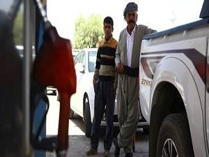 Erbil'e benzin yetişmiyor