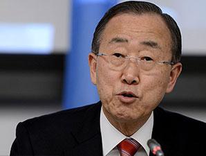 Ban Ki Moon'dan ebola turu