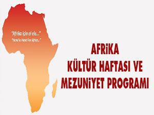 Afrika Kültür Haftası ve Mezuniyet Programı