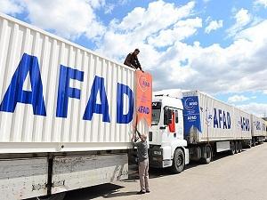 AFAD'dan Irak'a insani yardım