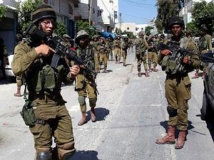 Gözaltındaki Filistinli sayısı 280'e yükseldi