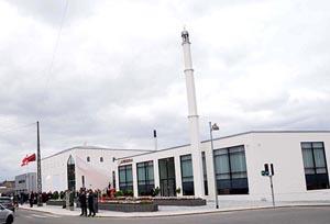 Danimarka'nın ilk minareli camisi açıldı
