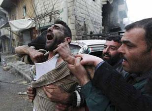Suriye'de vicdanlar felç, gözler kör, kulaklar sağır