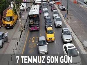 Bunu yapmayan trafiğe çıkamayacak