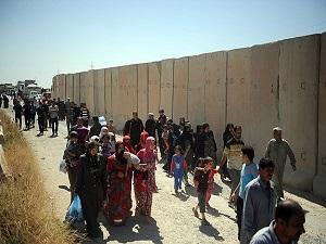 Türkmen aileler evlerine dönmeye başladı