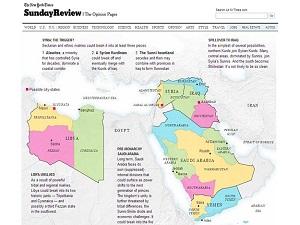 Batı medyasından tehlikeli Ortadoğu haritası